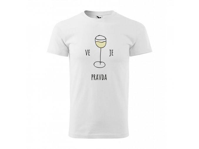triko muz vino biele eshop