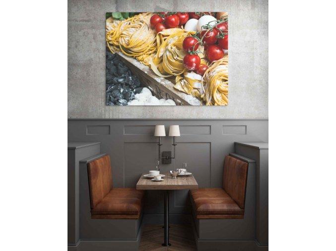 Obraz těstoviny - 95 x 75 cm