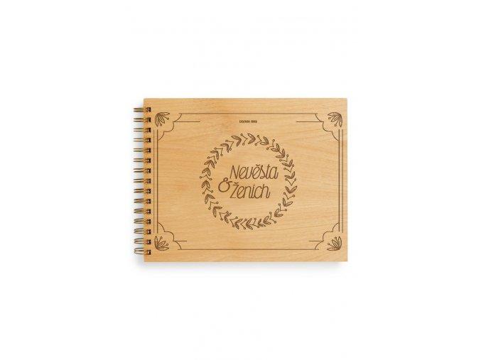 Svatební kniha hostů - Nevěsta a Ženich
