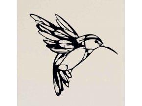 Samolepka na zeď - Kolibřík