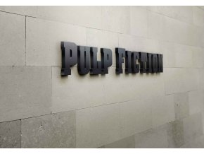 3D nápis Pulp Fiction - 115 x 25 cm