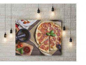 OBRAZ Pizza - 60 X 50 CM