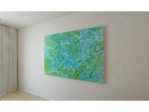 Obraz abstrakce III - 120 x 100 cm
