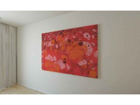 Obraz abstrakce IV - 120 x 100 cm